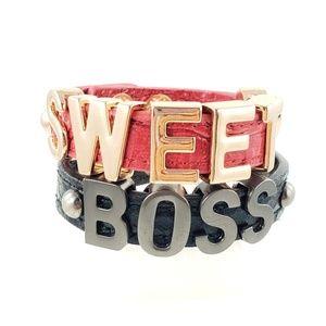 BCBGeneration Sweet Boss 2 Cuff Snap Bracelets